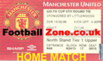 Manchester United Tickets - Home