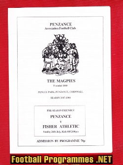 Penzance v Fisher Athletic 1997