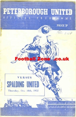 Peterborough United v Spalding 1952 - FA Cup