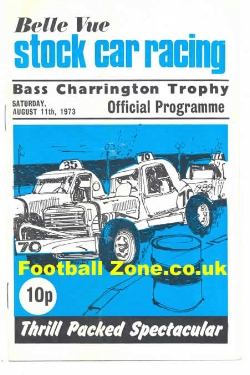 Belle Vue Stock Car Racing 1973 - Bass Charrington Trophy