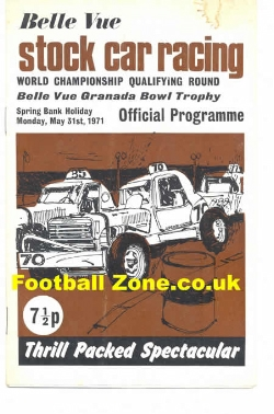 Belle Vue Stock Car Racing 1971 - World Championship Qualifying