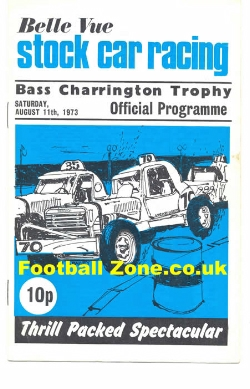 Belle Vue Stock Car Racing 1973 - Bass Trophy