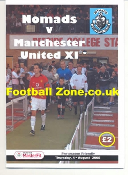 Nomads v Man Utd 2005 - 2005 - Friendly match
