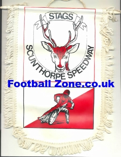 Scunthorpe Speedway Pennant - The Stags