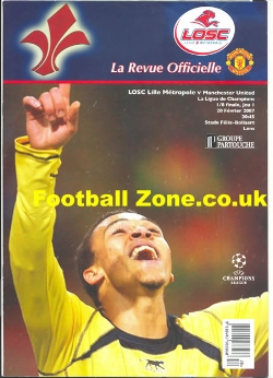 Lille v Man Utd 2007 - Pirate Issue