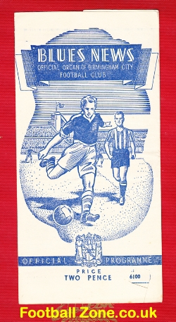 Birmingham City v Burnley 1949 - 1940s