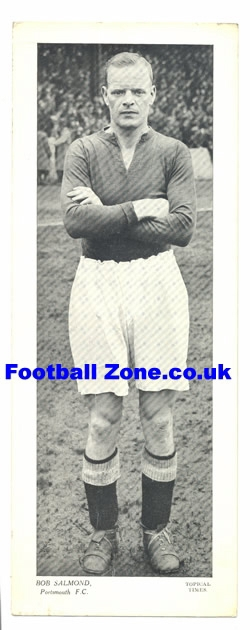 Bob Salmond Portsmouth - Old Football Photograph