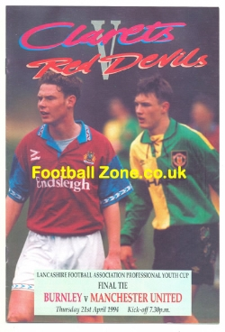 Burnley v Man Utd 1994