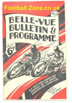 Belle Vue Speedway 1946 The 100 Guineas Trophy Final