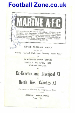 Marine Athletic 1972 Dressing Room Fund - Multi Signed