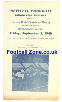 America Speedway 1949 - Lincoln Park California USA