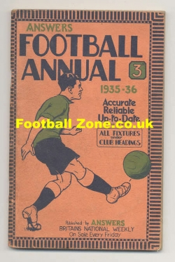 Answers Football Handbook 1935 - 1936