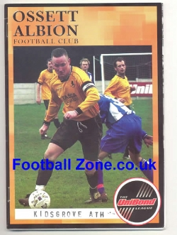 Ossett Albion v Kidsgrove Athletic 2005