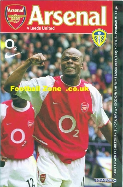 Arsenal v Leeds United 2003