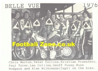Belle Vue Aces Speedway Old Photograph Scans X 11