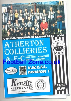 Atherton Collieries v Cammell Laird 2006