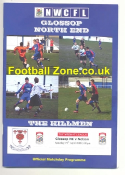 Glossop North End v Nelson 2008