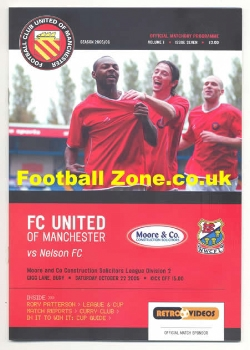 FC United Of Manchester v Nelson 2005