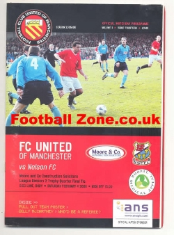 FC United Of Manchester v Nelson 2006