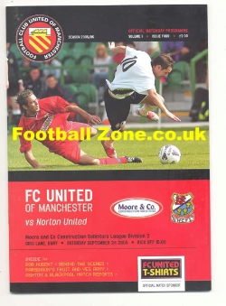 FC United Of Manchester v Norton United 2005