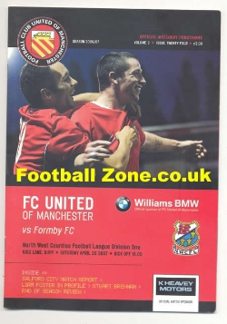 FC United Of Manchester v Formby 2007