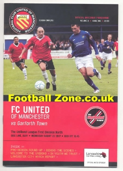 FC United Of Manchester v Garforth Town 2007