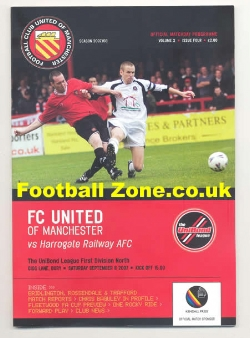 FC United Of Manchester v Harrogate Railway 2007