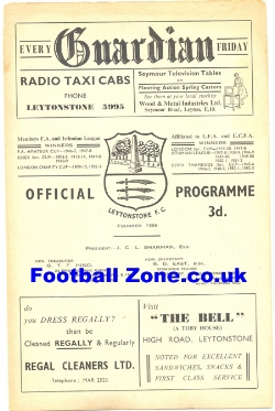 Leytonstone v Oxford City 1959