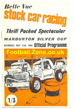 Belle Vue Stock Car Racing 1968 - Warburton Silver Cup