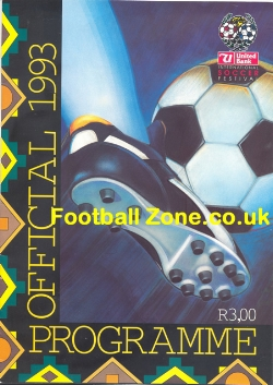 Arsenal v Man Utd 1993 - Played in South Africa