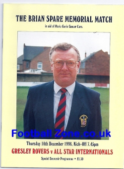Brian Spare Gresley Rovers - Benefit Match Memorial Game 1998