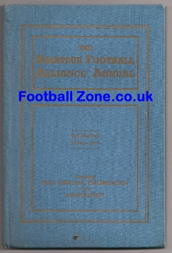 Amateur Football Alliance Annual 1956 - 57
