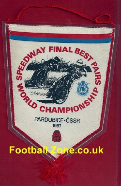 Czech Speedway Pennant World Championship Final 1987