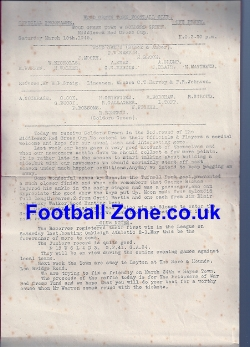 Wood Green v Golders Green 1945 - Red Cross Cup