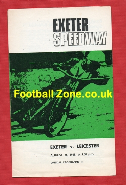 Exeter Speedway v Leicester 1968