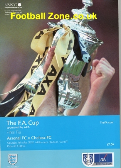 Arsenal v Chelsea 2002 - FA Cup Final in Cardiff