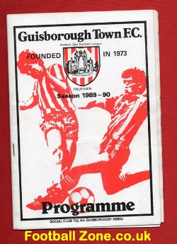 Billingham Synthonia v Whitby Town 1990 - At Guisborough