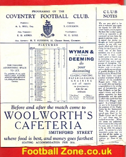 Coventry Rugby v Old Merchant Taylors 1931