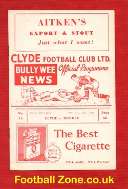 Clyde v Dundee 1961