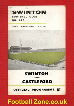 Swinton Rugby v Castleford 1967