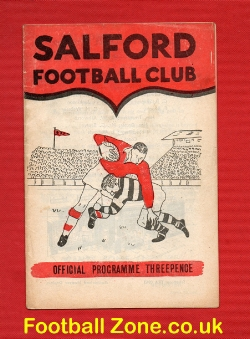 Salford Rugby v Dewsbury 1963 - to clear