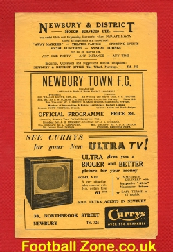 Newbury Town v Windsor Eton 1956 - Metropolitan District