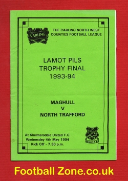 Maghull v North Trafford 1994 - Trophy Cup Final at Skelmersdale