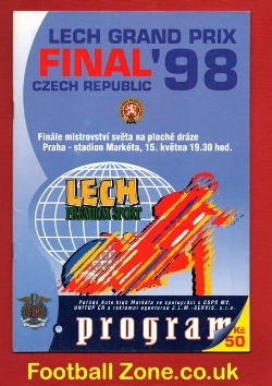 Grand Prix Speedway Final 1998 - Prague Czech