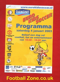 Euro Tournament includes Manchester United 2003 - Kids