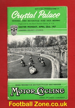 Crystal Palace National Open Road Race Meeting 1957