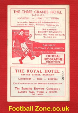 Barnsley v Doncaster Rovers 1957