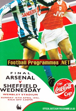 Arsenal v Sheffield Wednesday 1993 - FA Cup Final