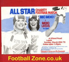 BBC Radio One v Radio Leeds 1979 - at Elland Road