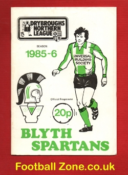 Blyth Spartans v Scarborough 1985